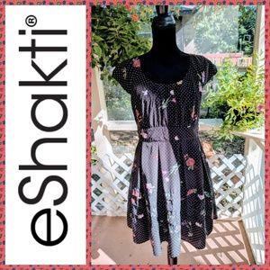 Eshakti Polka Dot Retro Dress